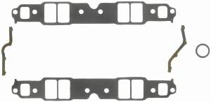 "Fel-Pro Performance Gaskets - Fel-Pro Intake Manifold Gaskets - Composite - 2.28"" x 1.38"" Port - .120"" Thick - SB Chevy"