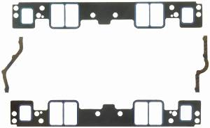 """Fel-Pro Performance Gaskets - Fel-Pro Printoseal Performance Intake Manifold Gaskets - Composite - 2.314"""" x 1.30"""" Port - .060"""" Thick - SB Chevy"""