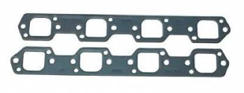 Fel-Pro Performance Gaskets - Fel-Pro Exhaust Header Gaskets - Steel Core Laminate - Trick Flow R-Port - SB Ford - Trick Flow R Heads