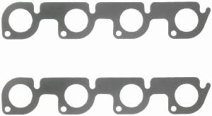 Fel-Pro Performance Gaskets - Fel-Pro Exhaust Header Gaskets - Steel Core Laminate - SB Ford - SVO - C302, D302, B351 Heads