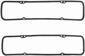 "Fel-Pro Performance Gaskets - Fel-Pro Fel-Coprene Valve Cover Gaskets - Rubber - SB Chevy - 5, 32"" Thick"