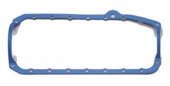 "Fel-Pro Performance Gaskets - Fel-Pro Rubber, Steel Core Oil Pan Gasket - 1-Piece - Chevy 1975-79 SB - Thick Seal - 9/ 64"" Thick"