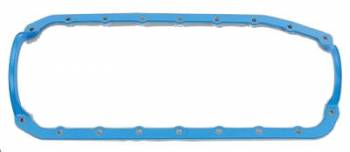 "Fel-Pro Performance Gaskets - Fel-Pro Rubber, Steel Core Oil Pan Gasket - 1-Piece - Chevy 1967-85 350 - Thick Seal - 9/ 64"" Thick"