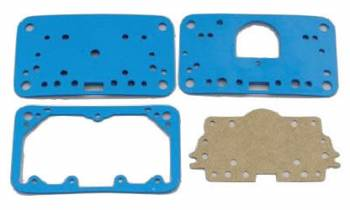 Holley Performance Products - Holley Carburetor Gasket Kit - Holley - Blue Reusable Fiber - Fuel Bowl - Metering Block - Gasket Pack for Model 4160