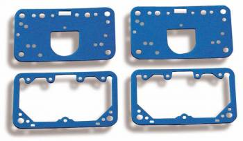 Holley Performance Products - Holley Gasket Assortment - Metering Block - Fuel Bowl - (2 Each) - Fits Model 4150 w/ Accelerator Pump Transfer Tube.