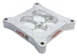 "HVH - High Velocity Heads - HVH 1"" Street Sweeper Aluminum Carburetor Spacer - 4150 Series - Fits Performer RPM, Brodix Hv1016, Dart Kool Can, RPM Air Gap Manifolds"