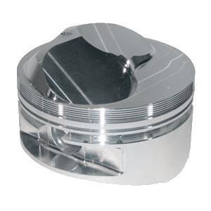"JE Pistons - JE Pistons Standard 23° Domed Piston Set - SB Chevy - 420 C.I. - 4.155"" Bore Size - 3.875"" Stroke - 6.000"" Rod Length"
