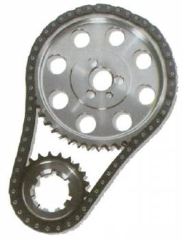 "JP Performance - JP Performance SB Chevy Billet Double Roller Timing Set - SB Chevy 265-400 - Reverse Oiler - +.005"""