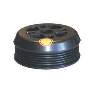 "Jones Racing Products - Jones Racing Products Water Pump Serpentine Pulley - 4"" O.D., 1.135"" Offset"