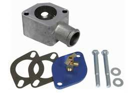 Moroso Performance Products - Moroso Water Neck Bleeder Kit - Cast Aluminum