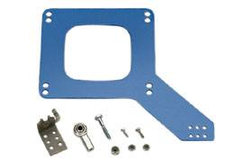 Moroso Performance Products - Moroso Throttle Cable Mounting Kit - Fits Holley® Carbs w/ MORse® Accelerator Cables