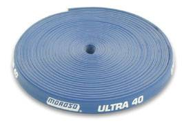 Moroso Performance Products - Moroso Ultra 40 Insulated Wire Sleeve - Blue - 25 Ft - Roll
