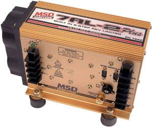 MSD - MSD 7AL-2 Plus CD Ignition Control Box - Analog - Capacitive Discharge - Universal - Electronic - Racing - V8 - Timing Retard