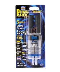 Permatex - Permatex® Permapoxy® 5 Minute General Purpose Epoxy - .84 fl. oz. Dual Syringe