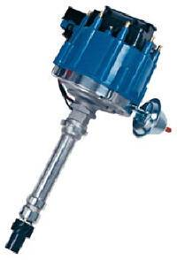 Proform Performance Parts - Proform Chevy HEI Electronic Racing Distributor w/ Coil w/o Mechanical Advance - Blue Cap