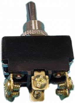 Painless Performance Products - Painless Performance Heavy Duty Toggle Switch - On, Off, On - Double Pole - 20 Amp