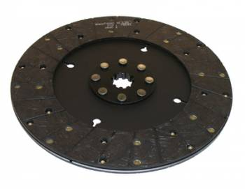"Ram Automotive - RAM Automotive 300 Series Street Stock Clutch Disc - Solid Hub - GM - 10.5"" x 1-1/ 8"" - 10-Spline - 2.5 lbs."