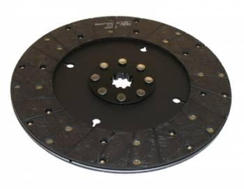 "Ram Automotive - RAM Automotive 300 Series Street Stock Clutch Disc - Solid Hub - GM - 10.5"" x 1-1/ 8"" - 10-Spline - 2.5 lbs."