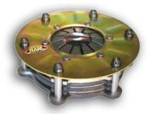 "Ram Automotive - RAM Automotive Assault Weapon Racing Clutch - 6.25"" - 3 Disc - Chevy (Late 86-Up) 1-1/8"" x 10 Spline"