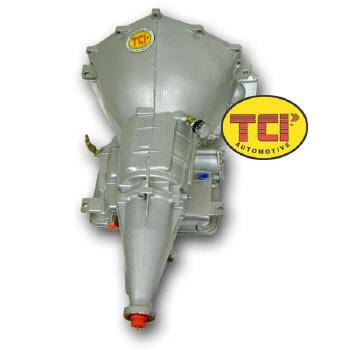 TCI Automotive - TCI Powerglide Circlematic Transmission - 744500 528300 Shift Lever Up - Manual Shift Rev Pattern Clutchless Style