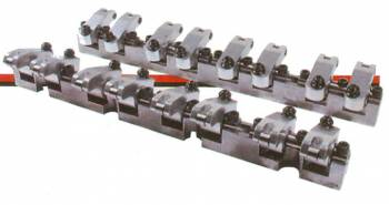 "T & D Machine - T&D Machine Sport Comp Shaft Mounted Rocker Arm Kit - SB Chevy, .220"" Offset - 1.60, 1.50 Ratio"