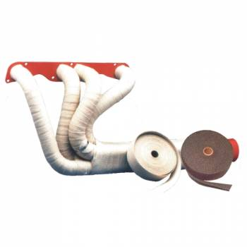 """Thermo-Tec - Thermo-Tec Standard Exhaust Insulating Wrap - 1"""" x 15 Ft. x 1/16"""" Thick"""