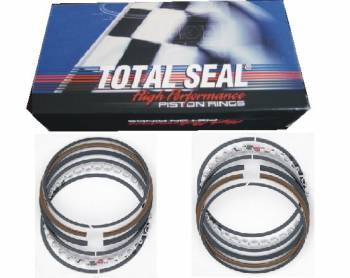 "Total Seal - Total Seal Gapless Top Ring File-Fit Ring Set - 4.030"" Bore - Top Ring: 1/16"" - 2nd Ring: 1/16"" - Oil Ring: 3/16"" (Low Tension)"