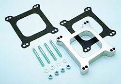 "Trans-Dapt Performance - Trans-Dapt Aluminum Carburetor Spacer - Holley/AFB 4 BBL - 2"" Tall - 4-Hole (1-11/16"")"