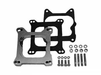 "Trans-Dapt Performance - Trans-Dapt Aluminum Carburetor Adapter - Holley 4 BBL to Quadrajet Base - 3/4"" Tall"