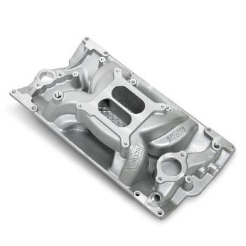 Weiand - Weiand Stealth Air Strike Intake Manifold - Non-EGR - 1500-6700 RPM - Square Bore - SB Chevy 262-400 w/ 96-Up Vortec Iron Heads