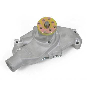 Weiand - Weiand Weiand Action Plus Aluminum Water Pump - High-Volume - Natural - SB Chevy (Short) - Fits 195568 Chevrolet SB Passenger Cars - 196970 350 Ci Corvettes and 195572 Light Duty Trucks
