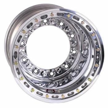 """Weld Racing - Weld Wide 5 HS Aluminum Beadlock Wheel - 15"""" x 12"""" - 5"""" Back Spacing"""