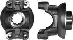 "Winters Performance Products - Winters Steel Drive Yoke w/ Integral Spacer - 1-1/4"" 10 Spline - New Style"