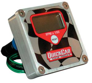 QuickCar Racing Products - QuickCar Quick Tachometer Digital LCD Recall Tachometer