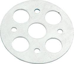 Allstar Performance - Allstar Performance Lightweight Aluminum Hood Pin Scuff Plate (Only) - 1/2""
