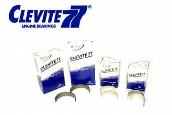 Clevite Engine Parts - Clevite P-Series Main Bearings - Full Groove - Standard Size - Tri Metal - Ford - 351M, 351W, 400 - Set of 5