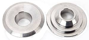"Manley Performance - Manley 10° Titanium Valve Spring Retainers - (16) - 1.625"" Diameter Double Springs - Standard Height Installed"