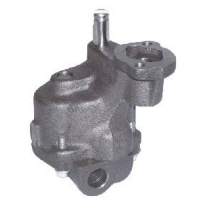 "Melling Engine Parts - Melling Select Performance SB Chevy Hi-Volume Oil Pump - 25% Volume Increase - 5/8"" Inlet - Press-In Pickup"