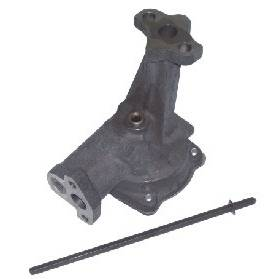 Melling Engine Parts - Melling Select Performance SB Ford 302 Hi-Volume Oil Pump - Stock Pressure - Bolt-On Pickup