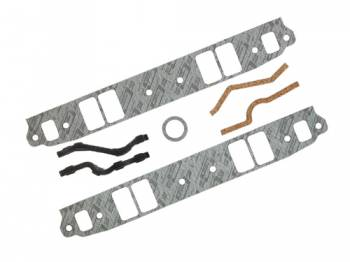 "Mr. Gasket - Mr. Gasket SB Chevy Intake Gasket Set - Composite - 2.19"" x 1.31"" Port - .0625"" Thick - SB Chevy - Set"