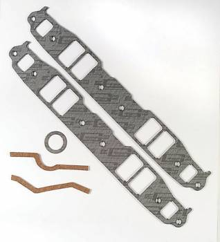 "Mr. Gasket - Mr. Gasket SB Chevy Intake Gasket Set - Composite - 2.10"" x 1.31"" Port - .120"" Thick - SB Chevy - Set"