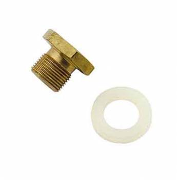Mr. Gasket - Mr. Gasket Power Valve Plug Block-Off Plug - w/ Teflon® Gasket for Holley Power Valves