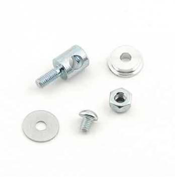"""Mr. Gasket - Mr. Gasket Carburetor Linkage Bushing Set - Aluminum - .500"""" Hole - Holley - 4150, 4160, 4150 HP, 4500 HP"""