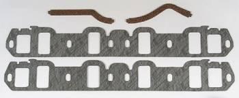 """Mr. Gasket - Mr. Gasket Standard Intake Gasket Set -Composite - 2.13"""" x 1.25"""" Port - .0625"""" Thick - Ford - 302, 351W"""