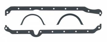 Mr. Gasket - Mr. Gasket Oil Pan Gasket Set - 1-Piece - Cellulose, Nitrile Composition - Chevy 1986-99 - 5.0, 5.7L
