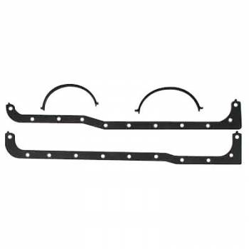 Mr. Gasket - Mr. Gasket Oil Pan Gasket Set - Multi-Piece - Cellulose, Nitrile Composition - Ford 1969-95 - 351W