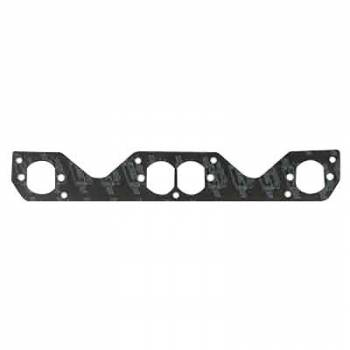 Mr. Gasket - Mr. Gasket Ultra-Seal Header Gaskets - Steel Core Laminate - Stock Port - SB Chevy - Hooker Plate