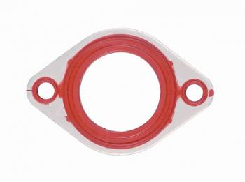 Mr. Gasket - Mr. Gasket Thermostat Housing , Water Outlet Gasket - Rubber - Buick , Chevy , Oldsmobile - BB , SB , V8