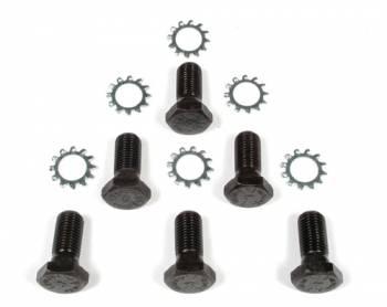 "Mr. Gasket - Mr. Gasket Flywheel Bolt Kits - Steel - Black Oxide - Hex Head - 7, 16-20"" - Chevy - Set of 6"