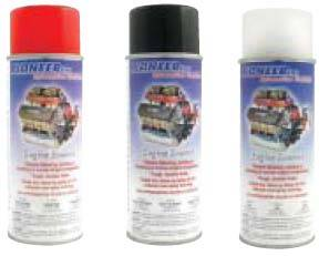Pioneer Automotive Products - Pioneer Engine Spray Enamel - 11 oz. - Lo-Gloss Black